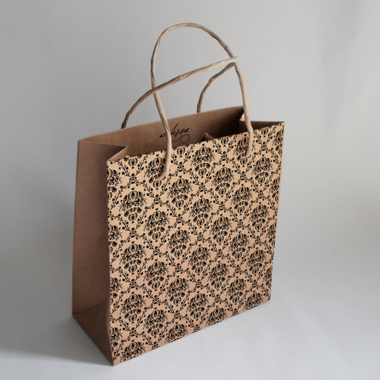 designer coach bags 8wi1  Marin Trail brown paper bag packaging: a branded brown shopping  Marin  Trail Brown Paper Bag Packaging A Branded Brown Shopping