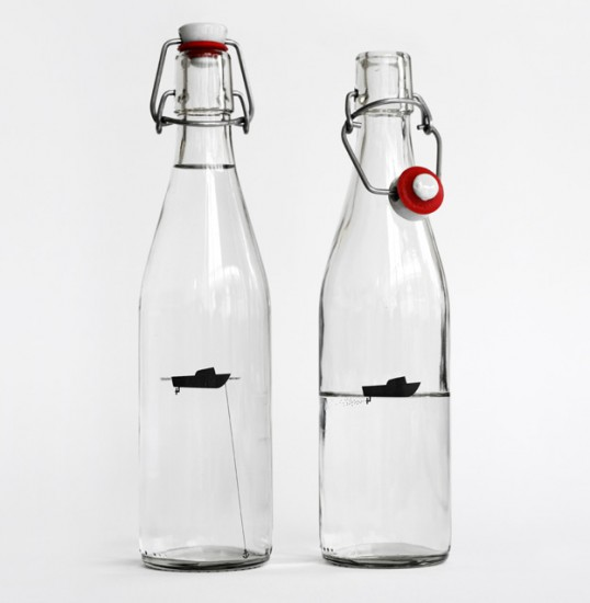 15 Awesome Packaging Design Ideas - Anonymous Water by Designers Anonymous
