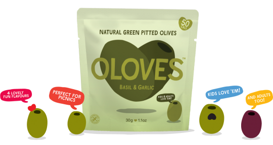 oloves pouch olive packaging design
