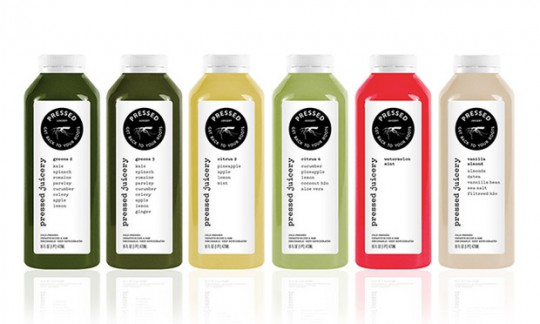 Pressed Juicery packaging design food innovation 1