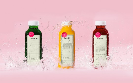 jugen health juice packaging design 1
