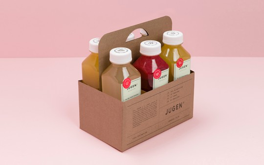 jugen health juice packaging design 4