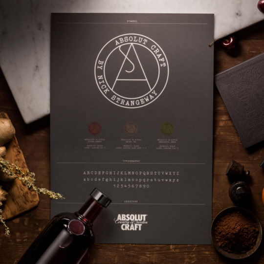 Absolut Craft Food Packaging Design 2