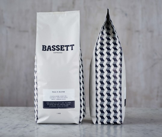 bassett coffee brand food packaging 1