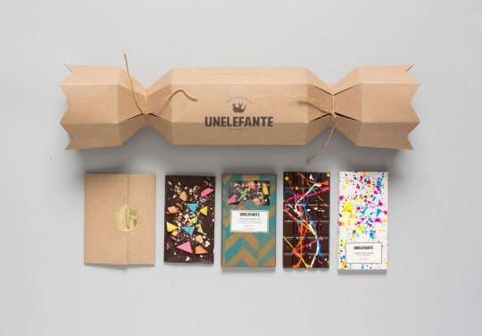 unelefante chcolate food packaging design trends 2