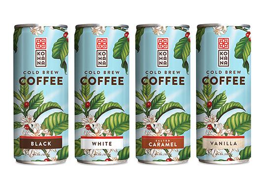 kohana coffee packaging design food