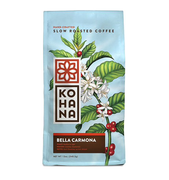 kohana packaging design coffee