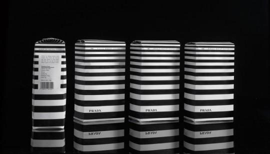 prada packaging design