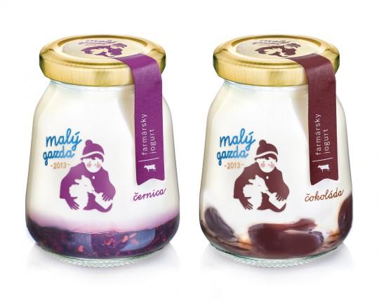 little farmer yoghurt packaging design 2