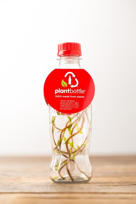 coca cola plant bottle packaging innovation design